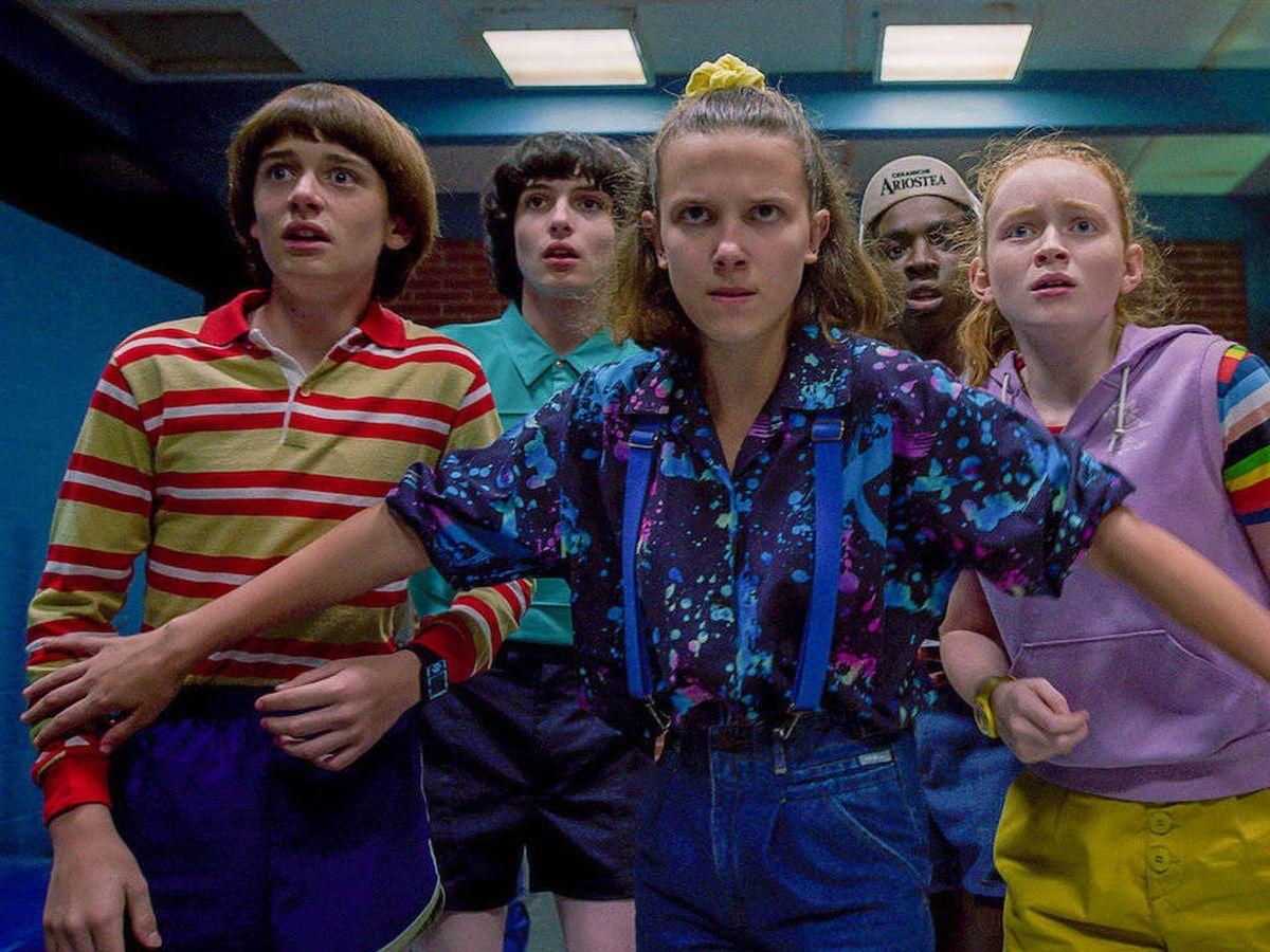 Foto: 'Stranger Things', una de las series más maratoneadas de Netflix. (Netflix)