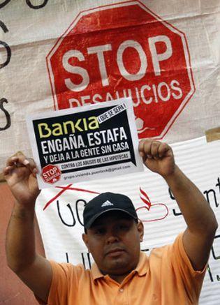 Foto: Bankia paraliza tres desahucios en Tenerife, uno tras una huelga de hambre