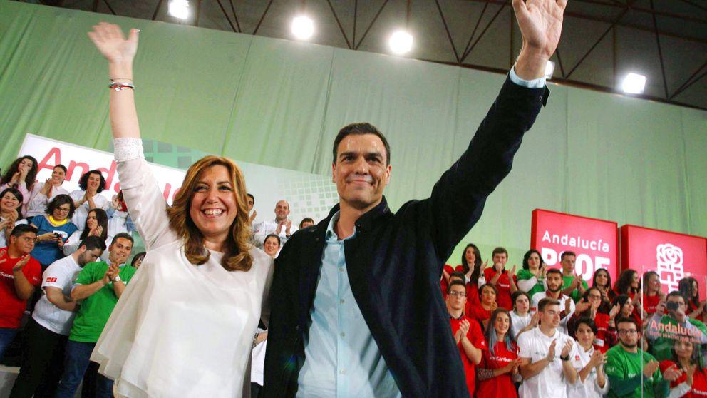 """Pedro Sánchez a Susana Díaz: """"Tú en San Telmo, yo en Moncloa"""""""