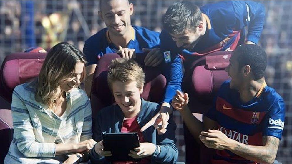 Piqué, Messi, Neymar o Rakitic protagonizan el vídeo viral de Qatar Airways