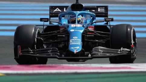 Fernando Alonso (4º) muestra colmillo como la gran sorpresa y Verstappen manda