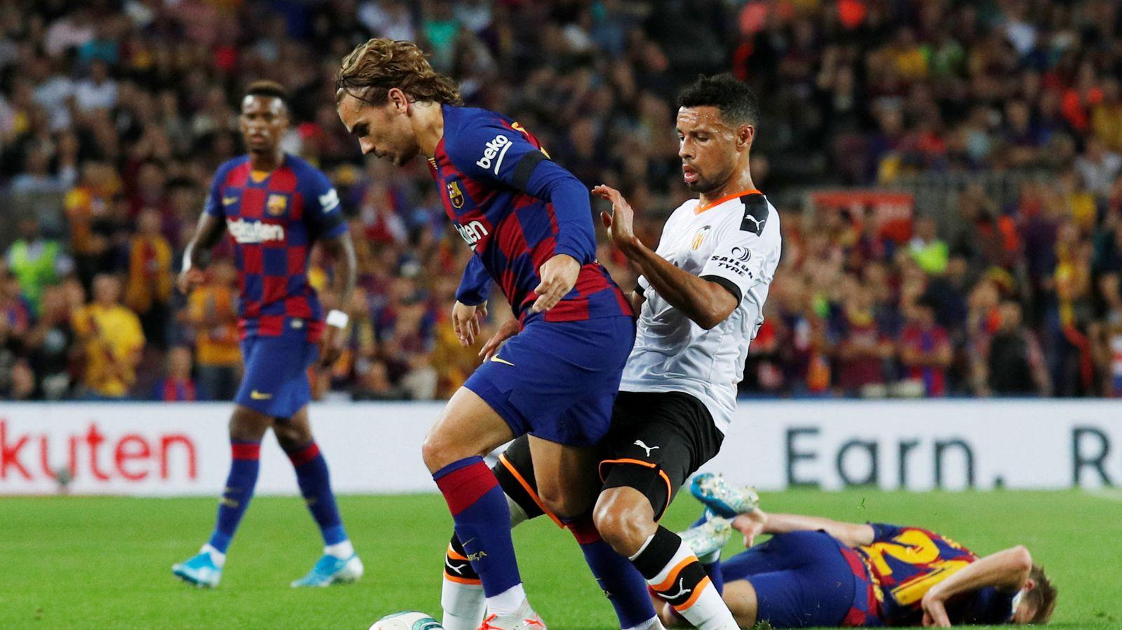 Foto: La liga santander - fc barcelona v valencia