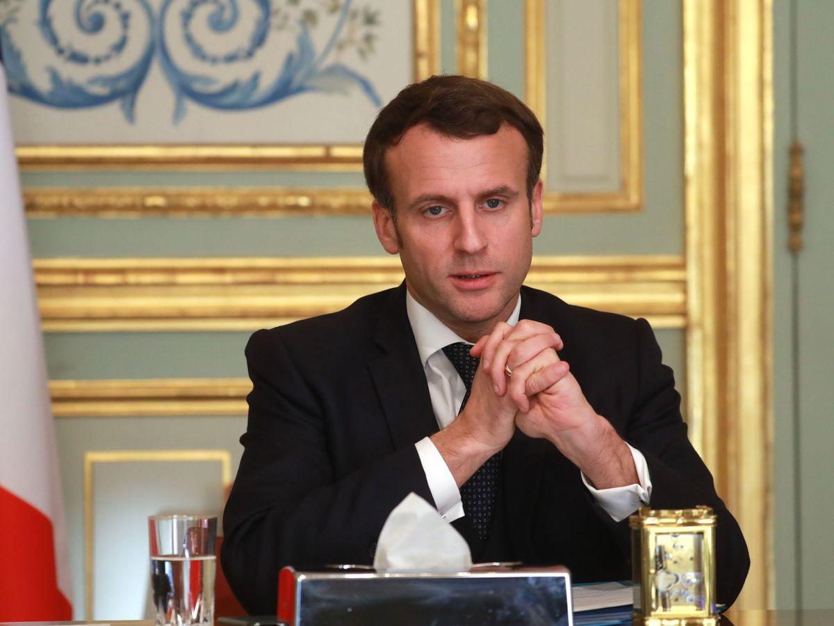 Foto: El presidente francés Emmanuel Macron. (EFE)
