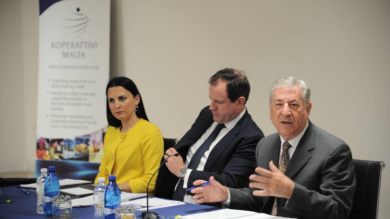 Foto: Andreina Fenech, ex directora general de Pesca y Acuicultura de Malta (izda). (Comisión Europea)