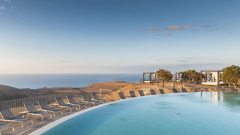 Una piscina infinita en Gran Canaria, la del Sheraton.