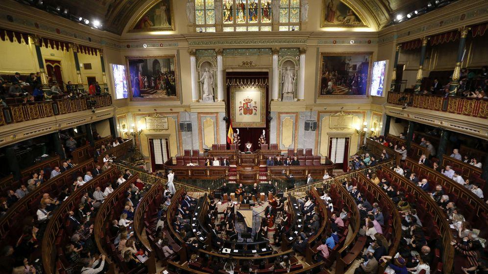 Foto: Fotografía del Congreso de los Diputados de Madrid en la anterior legislatura. (EFE)