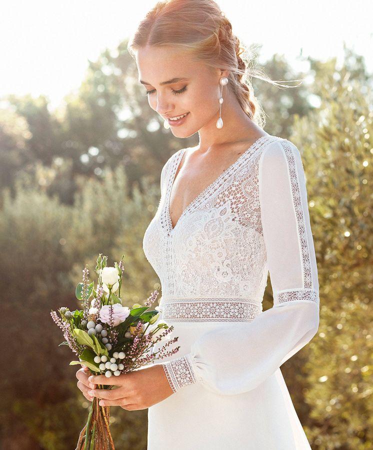 Foto: Descubre las últimas tendencias en vestidos de novia. (Cortesía)