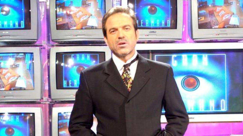 Pepe Navarro al frente de 'Gran Hermano 3'. (Mediaset España)