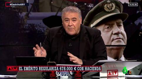 Ferreras noquea a Ayuso con la Constitución por su defensa al emérito