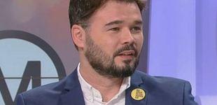 Post de Gabriel Rufián deja tirada a Lídia Heredia en TV3: