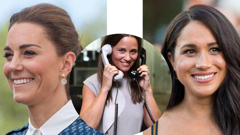 Kate Middleton, Pippa Middleton y Meghan Markle. (Cordon Press /Getty)