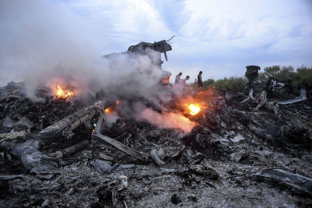 Foto: Fotografía de archivo fechada el 17 de julio de 2014 que muestra a los disturbios del Boeing 777 de Malaysia Airlines MH17. (EFE)