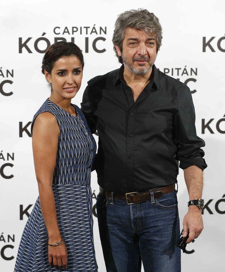 Foto: Inma Cuesta y Ricardo Darín en la presentación de 'Capitán Kóblic'