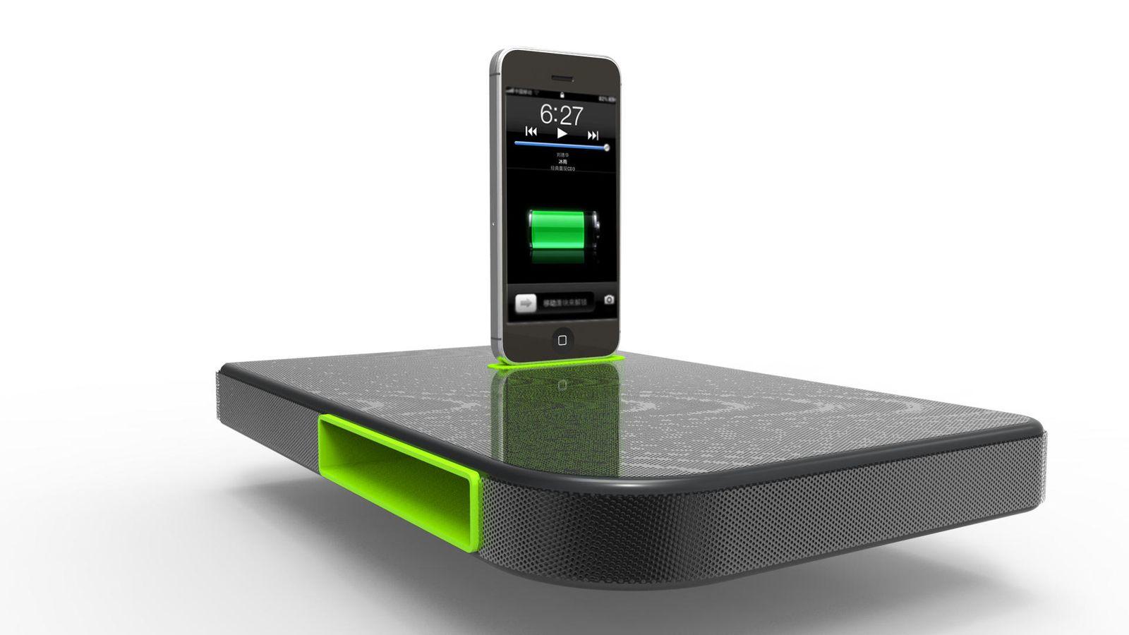 Foto: Cargar el móvil con sonido