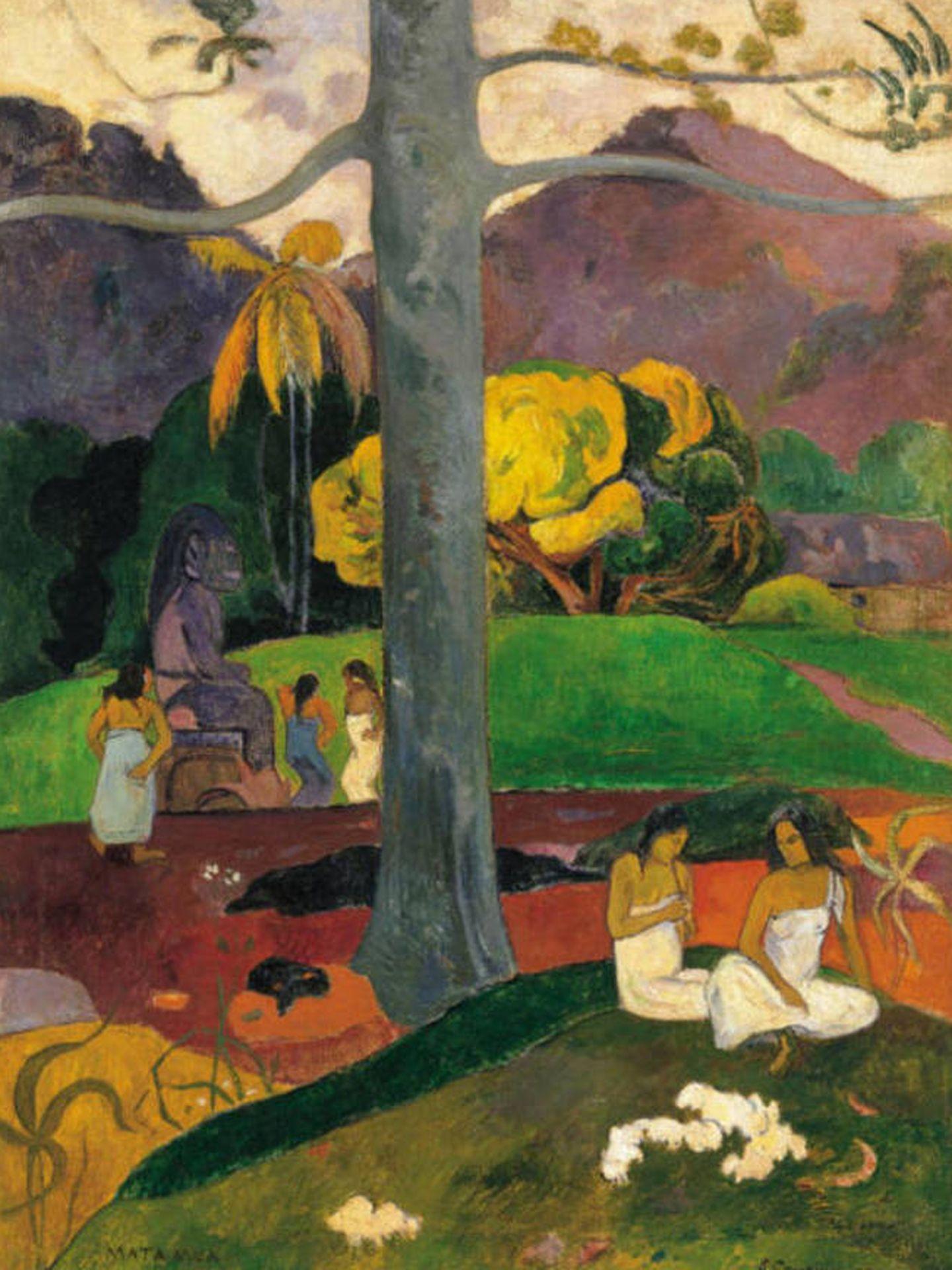 'Mata Mua'. (Paul Gauguin, 1892)