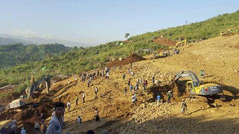 La avalancha en una mina de jade de Birmania deja al menos 104 muertos