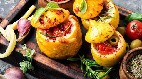 Limones rellenos, un plato sorprendente y espectacular