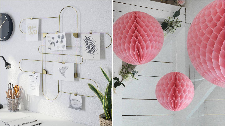 Novedades de decoración de Ikea. (Cortesía)
