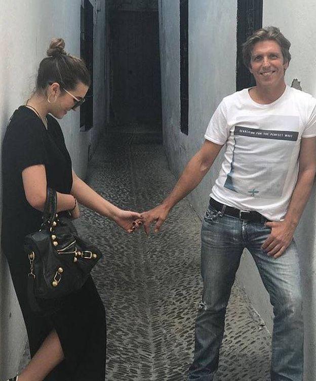 Foto: El Cordobés y su hija en una imagen de Instagram.