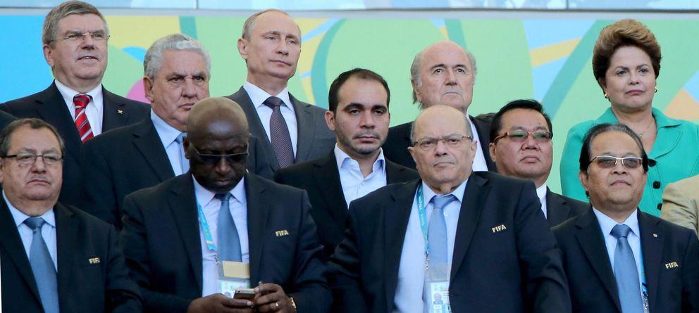 Foto: Diez jefes de Estado y de Gobierno acuden a vivir la final del Mundial en Maracaná.