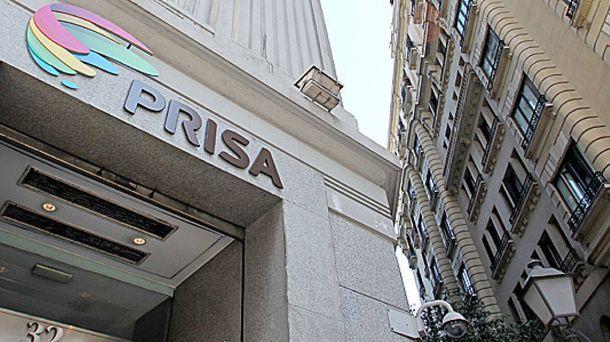 Foto: Exterior de la sede de Prisa en la Gran Vía de Madrid. (EFE)