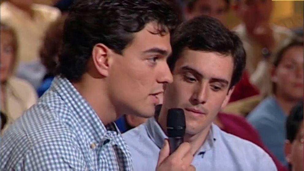 La primera vez en televisión de Pedro Sánchez con 25 años en 'Moros y Cristianos'