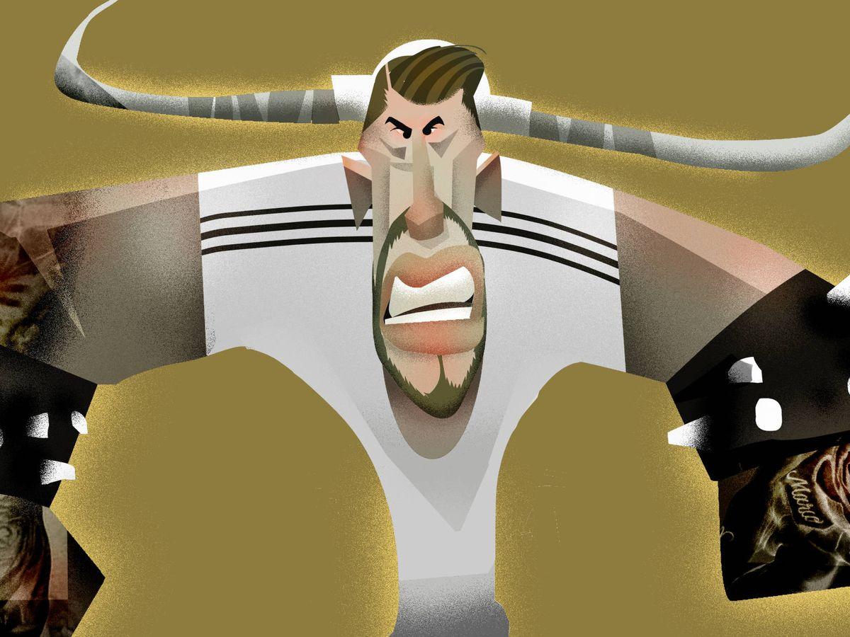 Foto: Aproximación a la imagen mental que Sergio Ramos tiene de sí mismo. (El Herrero)