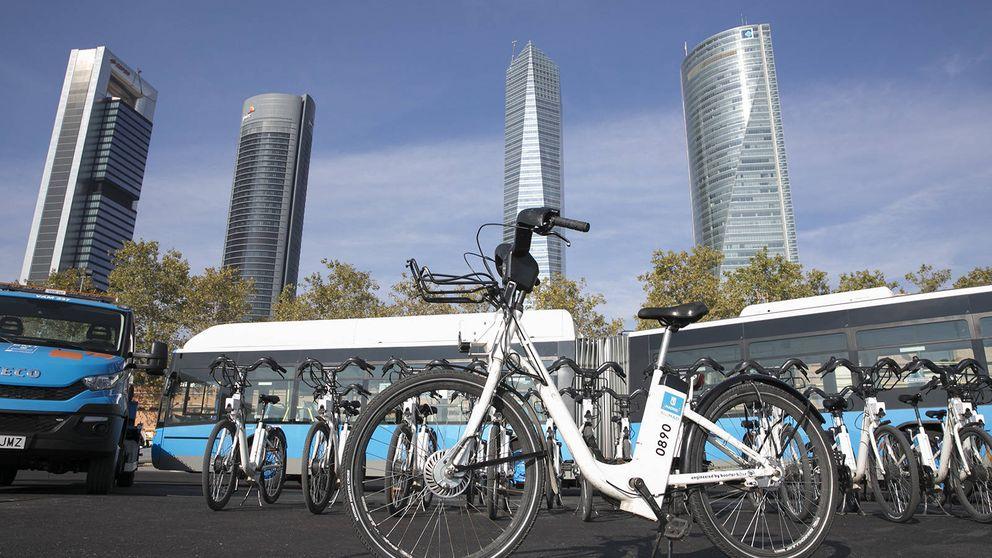 El mapa de BiciMAD: dónde coger bicicletas eléctricas compartidas en Madrid