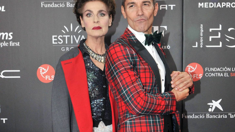 Antonia Dell'Atte y Jesús Vázquez. (Cordon Press)
