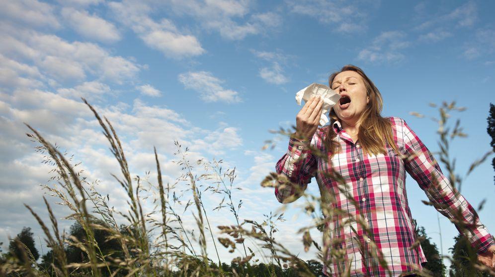 Foto: ¿Influye en nuestra alergia el lugar en que vivimos? (Corbis)