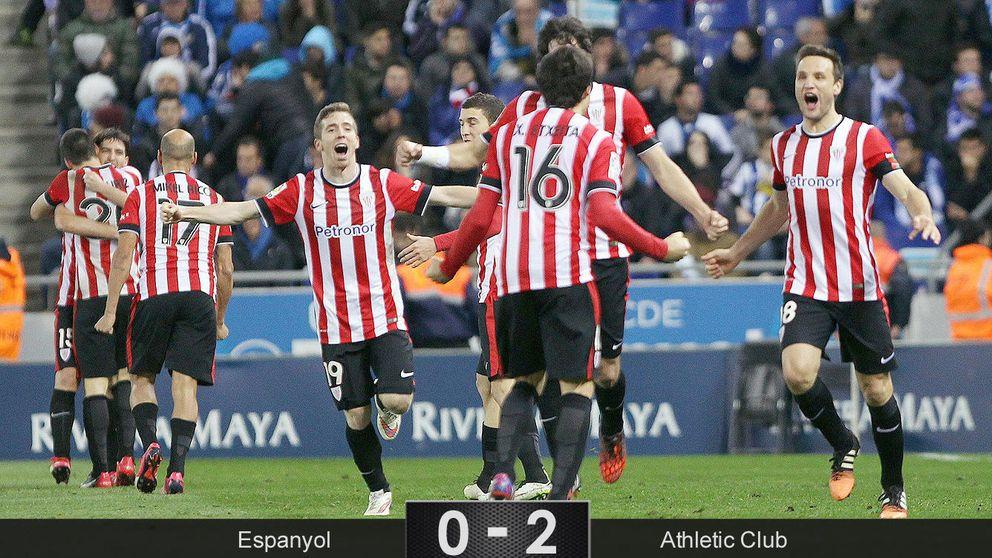 El Athletic tenía una sola bala y la usó contra un Espanyol demasiado motivado