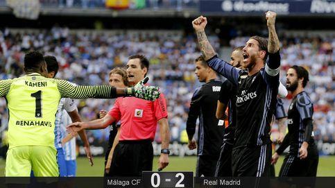 Cristiano no deja espacio a los nervios y le da al Madrid la trigésimo tercera Liga