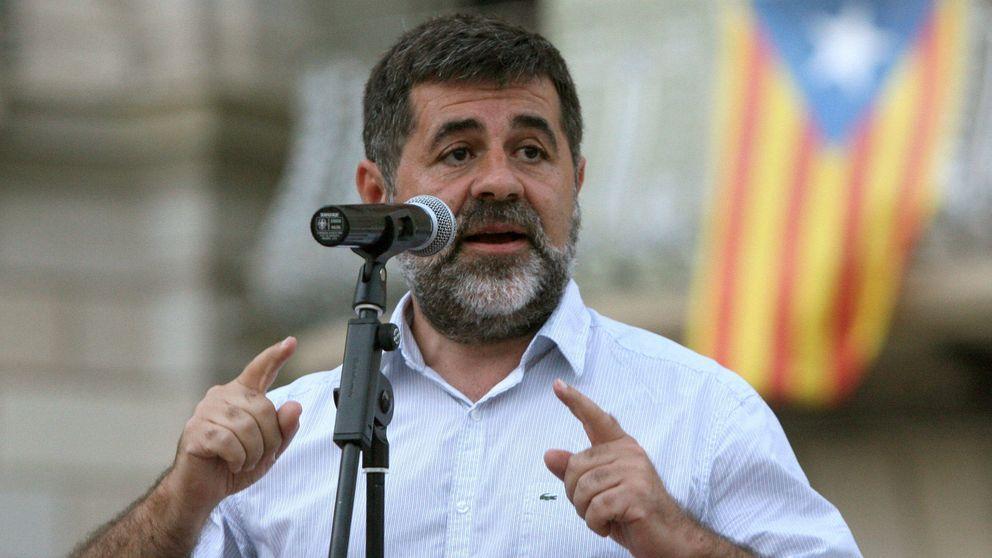 El núcleo duro de Jordi Sànchez le arropa en la huelga de hambre en la cárcel