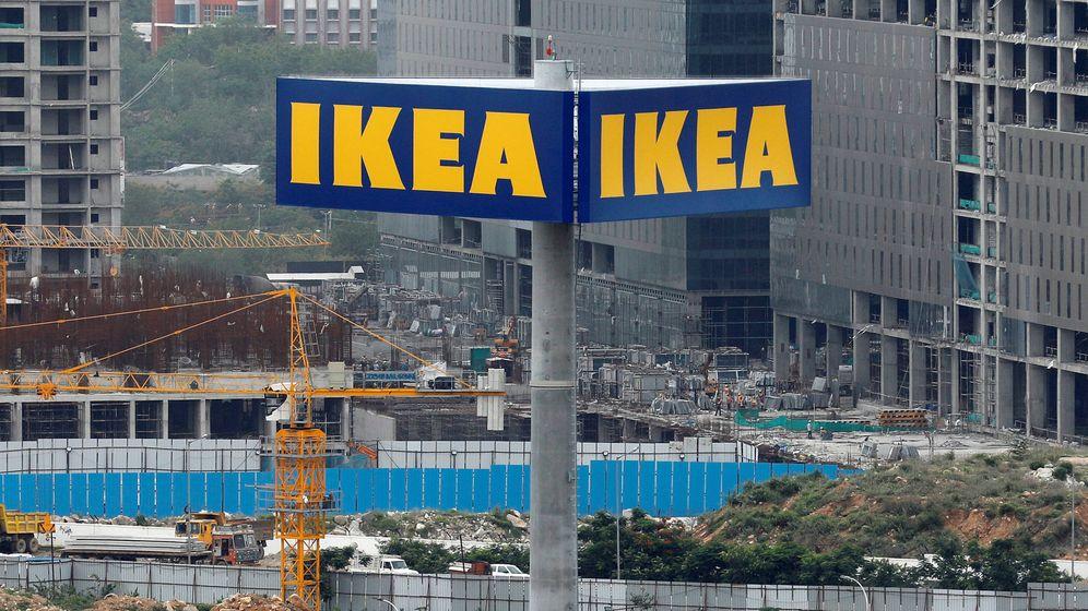 Foto: El logo de Ikea en Hyderabad, India. (Reuters)