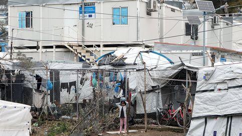 Primer caso de coronavirus en Moria, el mayor campo de refugiados de Europa