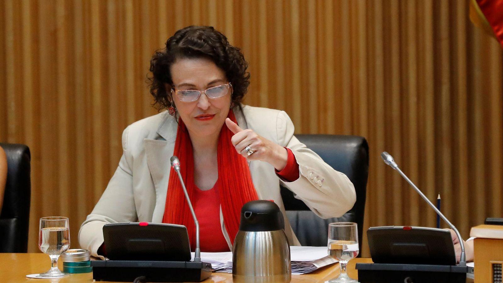 Foto: La ministra de Trabajo y Seguridad Social, Magdalena Valerio. (EFE)
