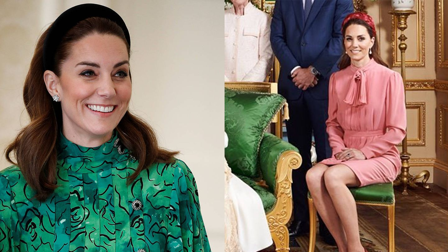 Kate Middleton. (Getty / Instagram @sussexroyal)