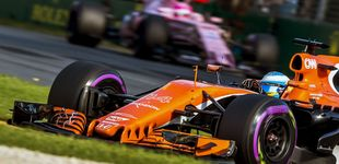 Post de McLaren se pone la venda antes de la herida: