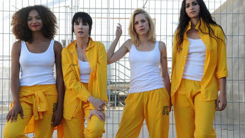 Foto: Elenco de actrices principales de 'Vis a vis'.