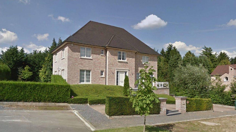 La casa que ha alquilado Carles Puigdemont en Waterloo. (Google Maps)