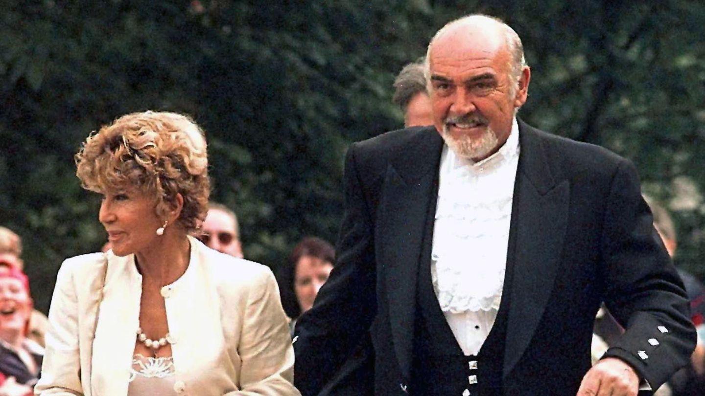 Sean Connery y su mujer, Micheline Roquebrune. (EFE)