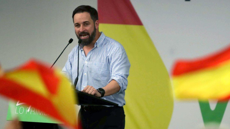 El presidente nacional de Vox, Santiago Abascal. (EFE)