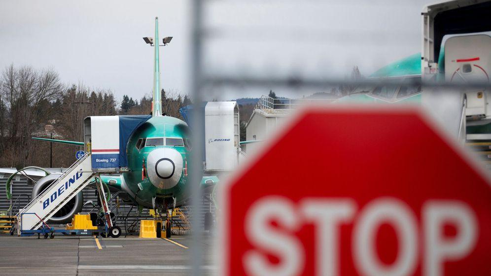 Foto: Imagen de un Boeing 737 MAX. (Reuters)