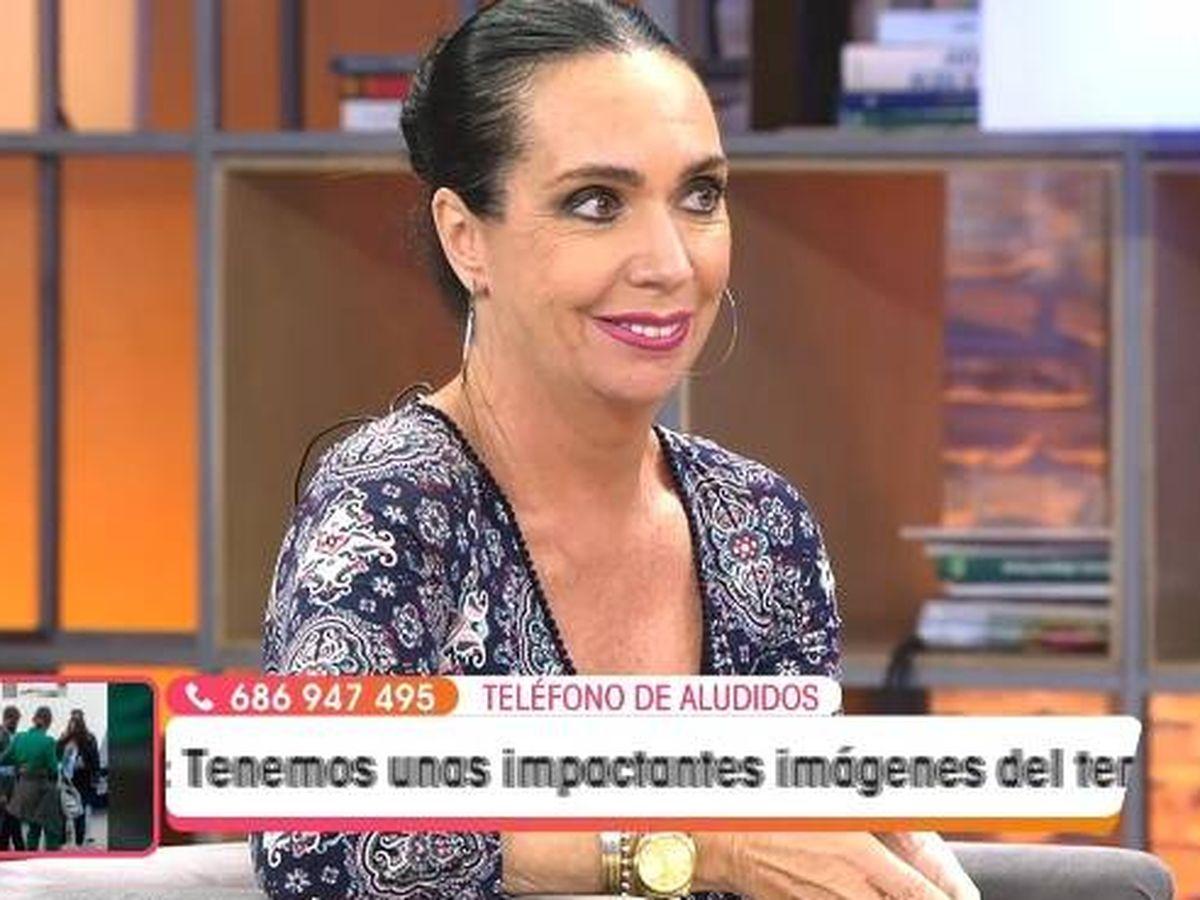 Foto: Yolanda Gaviño, en 'Viva la vida'. (Telecinco).