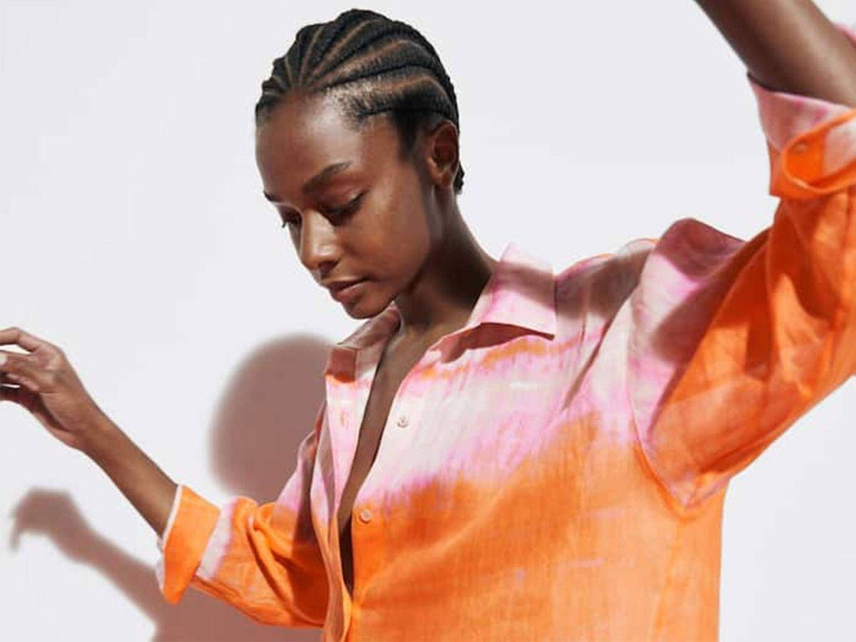 Foto: Camisa ideal para el verano de Massimo Dutti. (Cortesía)