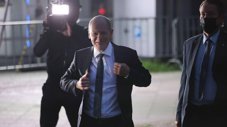 Foto: El candidato del SPD, Olaf Scholz. (Getty)