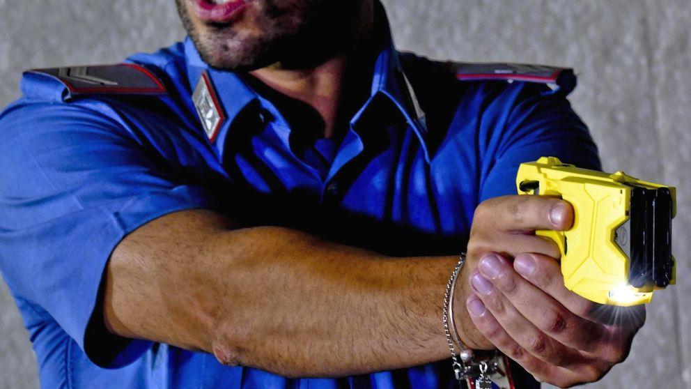 La Guardia Civil empieza a entrenar con pistolas táser en plena crisis sanitaria