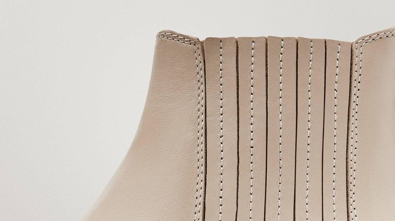 Botines de piel de Massimo Dutti aptos para la primavera. (Cortesía)