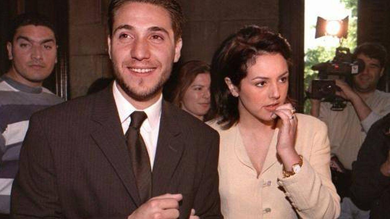 Antonio David Flores y Rocío Carrasco en el programa 'Hormigas Blancas'. (Telecinco)