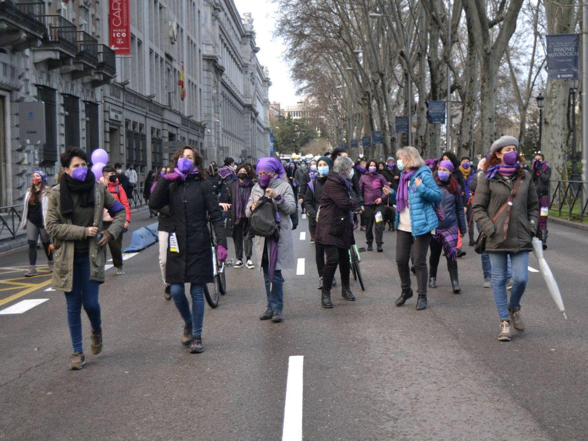 Foto: Manifestación 8-M en Madrid. (M.Z)